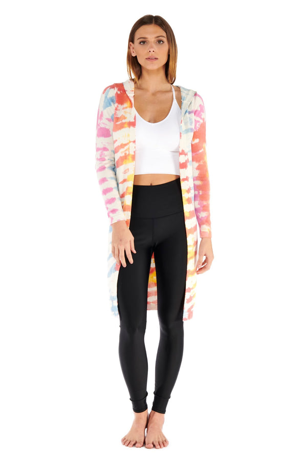 Blended Cardigan Electric Yoga