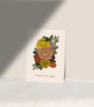 Thank You, Mom Bouquet Greeting Card