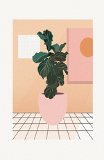 Fiddle Leaf Fig Print