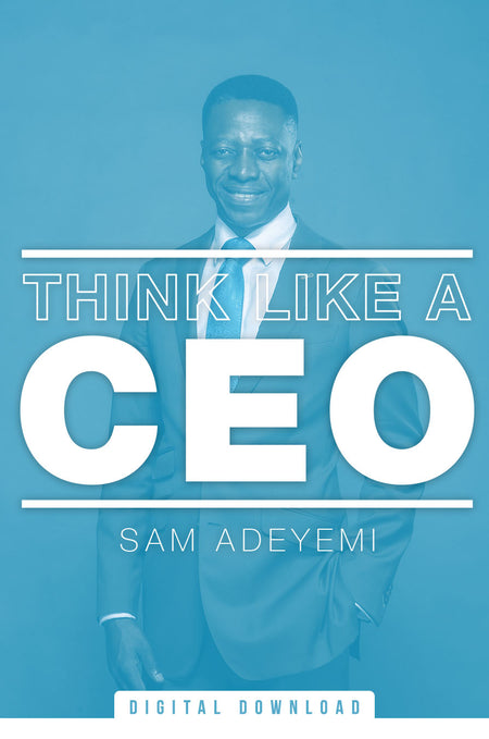 Think Like A CEO (MP3)