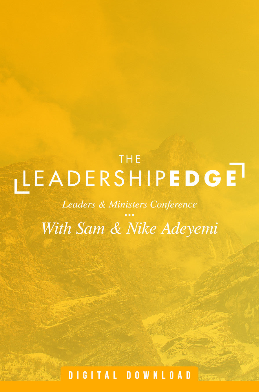 Leadership Edge Conference (MP3)