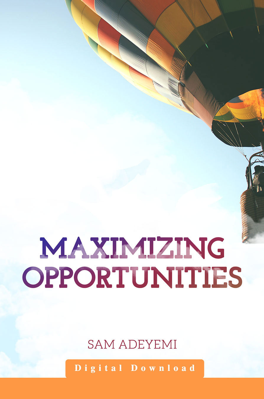 Maximizing Opportunities (MP3)