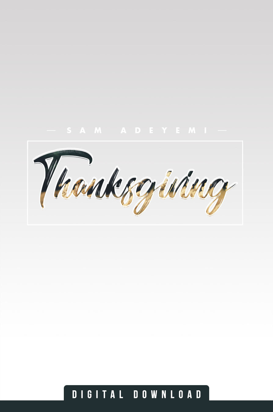 Thanksgiving Series (MP3)