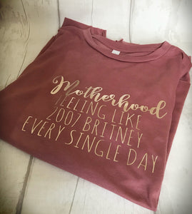 Ladies 'motherhood' tee