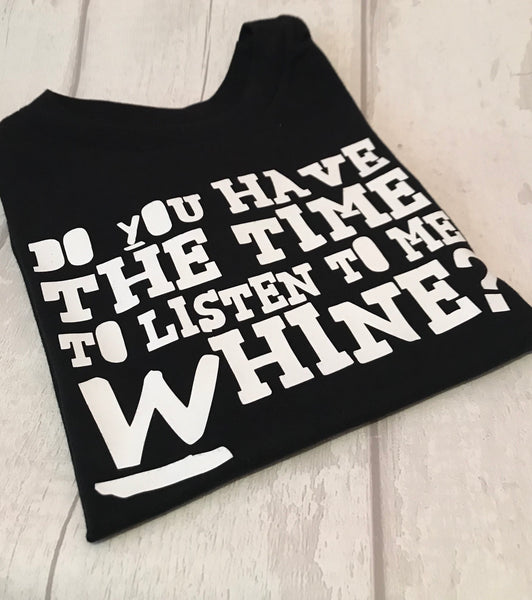 Listen to me whine tee (green day inspired)