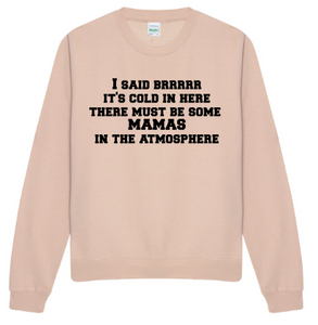 Bring it on Adult sweatshirt