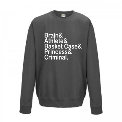 Breakfast club Adult sweatshirt