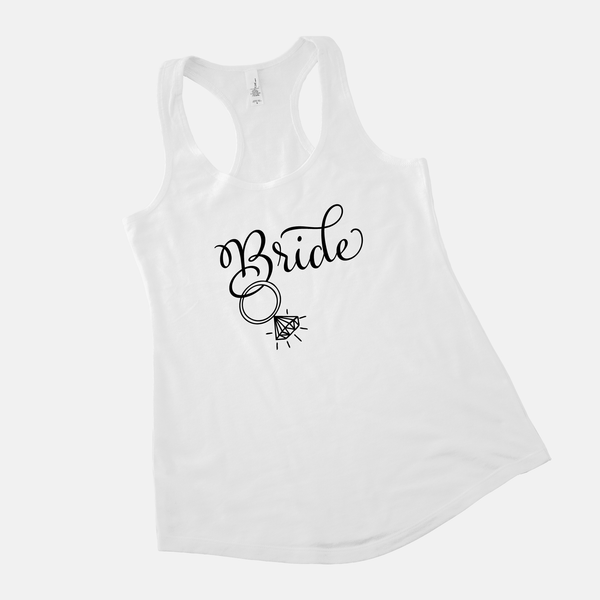 Bride Tank Top - Bachelorette Party Tanks
