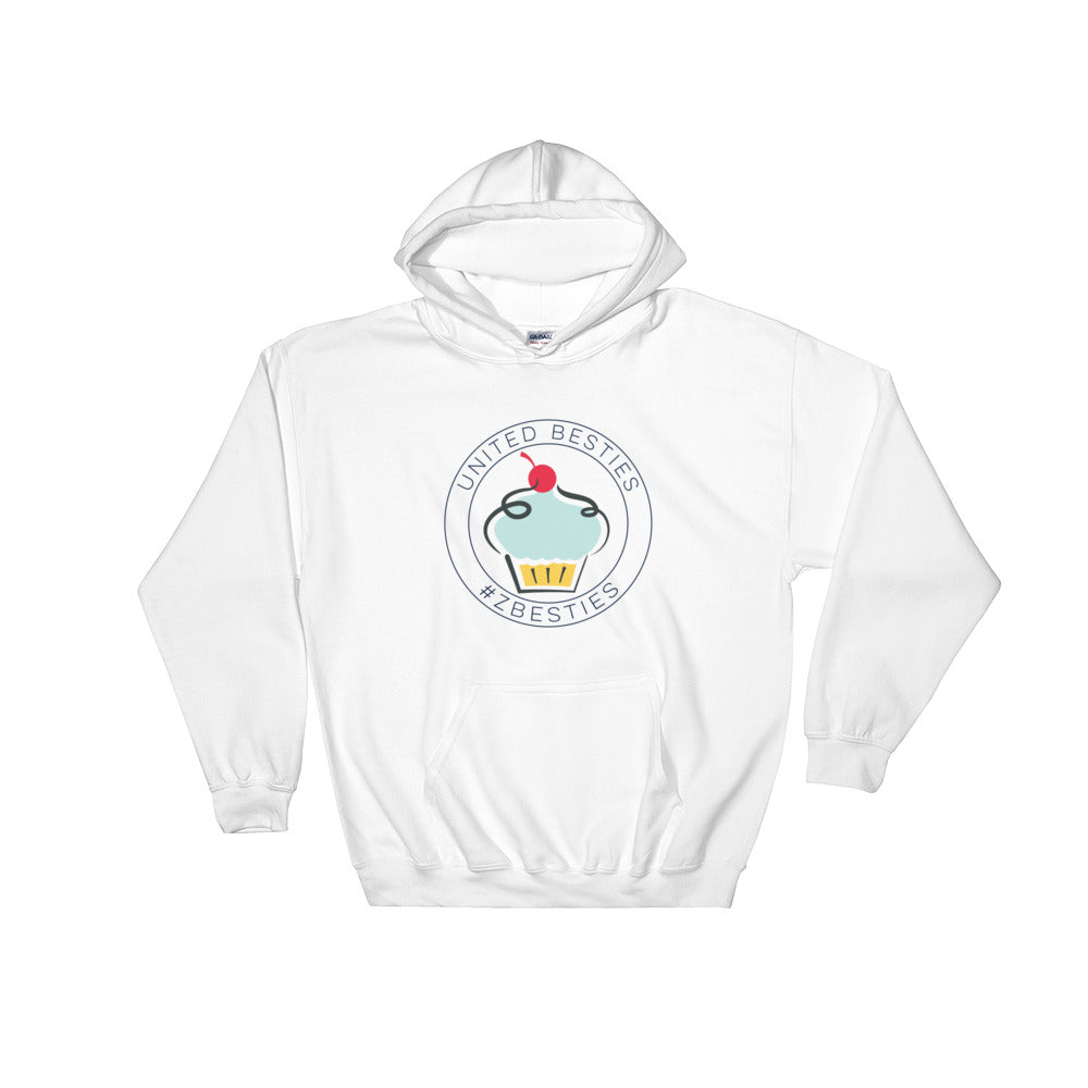 United Besties Circle Logo Hooded Sweatshirt