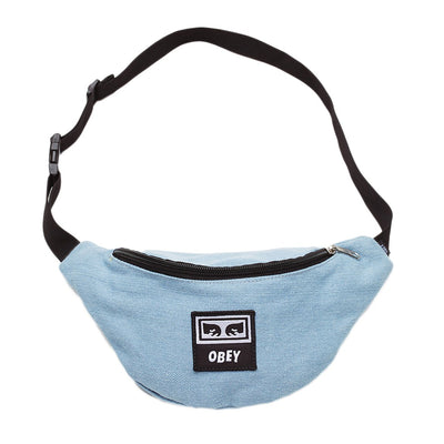 Wasted Hip Bag Denim | OBEY Clothing