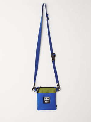 Conditions Side Pouch Iii Blue Multi | OBEY Clothing
