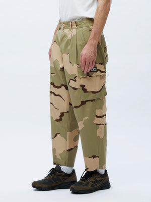 Fubar Big Fits Cargo Pant Desert Camo | OBEY Clothing