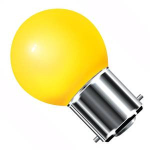 GB25BC-Y-CR - 240v 25w Ba22d Yellow