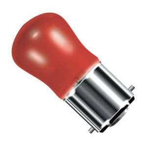 02580-BE - Small Sign (Pygmy) Red - 240v 15W B22d