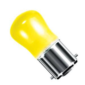 02600-BE - Small Sign (Pygmy) Yellow - 240v 15W B22d
