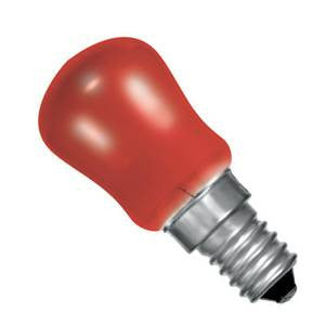 02624-BE - Small Sign (Pygmy) Red - 240v 15W E14