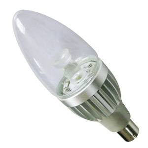 CL4SBC-CWD-BE - Power LED Candle - 240v 4w B15d Dimmable