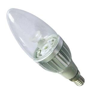 CL4SES-84D-BE - Power LED Candle - 240v 4w E14 Dimmable