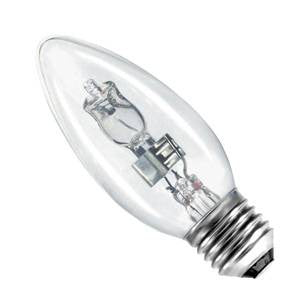C42ES-H-BE - Halogen E/S Candle 35mm - 240v 42W E27