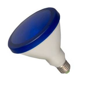 P38L15FL-B-BE - 240v 15w E27 Blue PAR38 LED