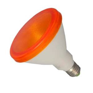 P38L15FL-Y-BE - 240v 15w E27 Yellow PAR38 LED