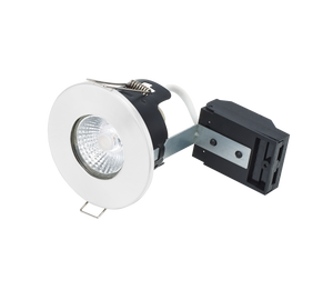 Bell 10660 - Fire Rated MV/LV Downlight - White