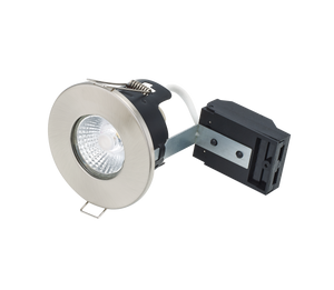 Bell 10661 - Fire Rated MV/LV Downlight - Satin Nickel