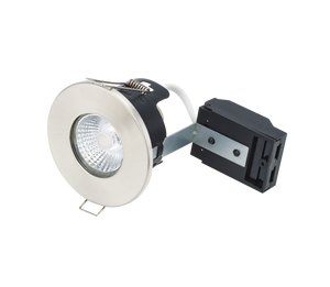 Bell 10662 - Fire Rated MV/LV Downlight - Chrome