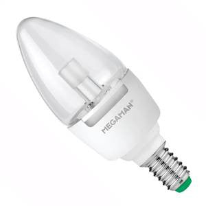 CL7SES-82D-ME - LED Candle - 240v 7w 2800K E14 Dimmable