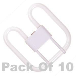 F162D4P-827BX-BE - CFL Square 4 Pin - 240v 16W GR10
