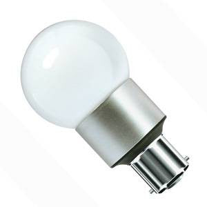 05170-BE - Power LED GLS - 240v 3W B22d