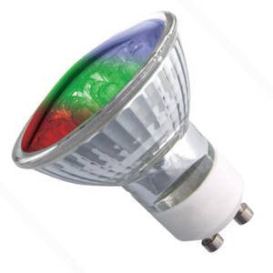 P16L2-MC-BE - 18 LED GU10 COLOUR CHANGE - 240v 2W GU10