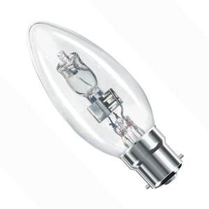 C42BC-H-BE - Halogen Candle 35mm - 240v 42W B22d