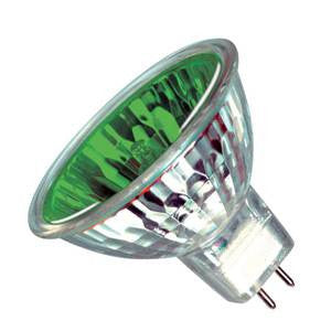 M189-G-IW - 12v 50w GU5.3 51mm  Green 13Deg