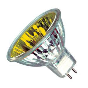 M209-Y-IW - 12v 50w GU5.3 51mm  Yellow 32Deg