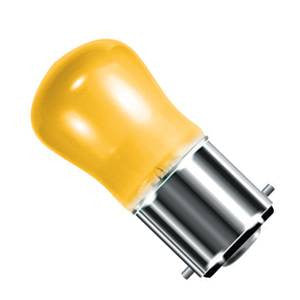02540-BE - Small Sign (Pygmy) Yellow - 240v 15W B22d