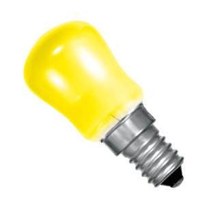 PY15SES-Y-CR - 250v 15w E14 29X66mm Yellow