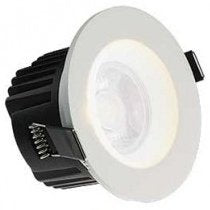 All LED 10 Watt IP65 Dimmable LED Fire Rated Downlight (Warm White)