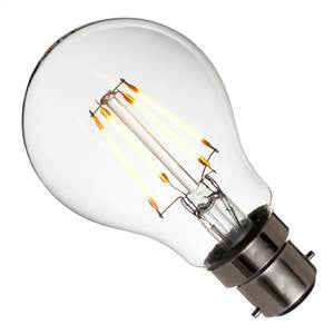GLL3.5BC-83-UK - 240v 3.5w BC Filament LED 830 A60 420lm