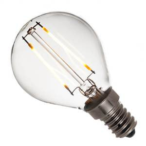 GBL2SES-83-UK - 240v 2w E14 Filament LED 830 G45 220lm