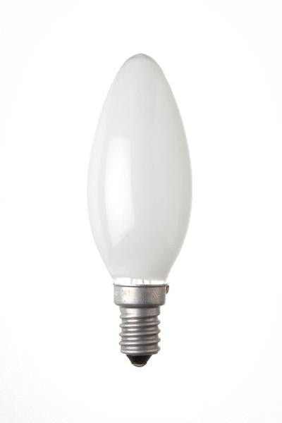 C25SES-OPLRS-BE - 240v 25w E14 35mm Opal 3000 Hours RS