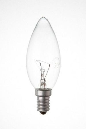 C25SES-PLRS-BE - 240v 25w E14 35mm Clear 3000HR R/Service