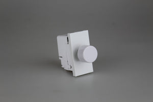 Varilight DIP400W - 2-Way Push-On/Off Rotary Dimmer 40-400W (1 Grid Space)
