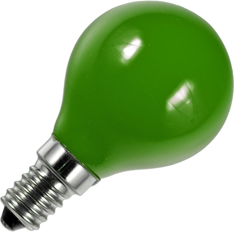 Schiefer L147215003 - E14 Filamentled Ball G45x75mm 230V 1W Green AC Non-Dim