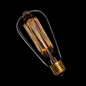 NAV2240E-SQ-SO - 230v 40w E27 Squirrel Cage Edison