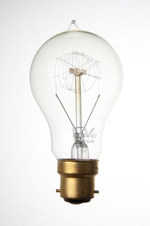 F1920-BC - 240v 60w B22d Ferrowatt Antique Loop