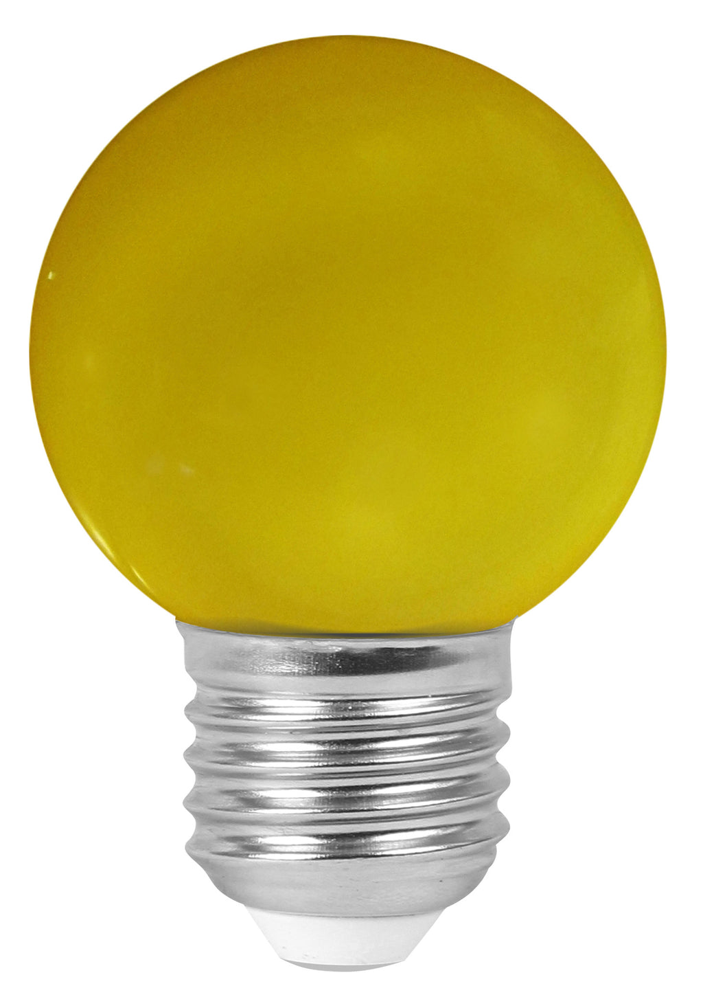 160137 - Golfball LED 1W E27 30Lm Yellow