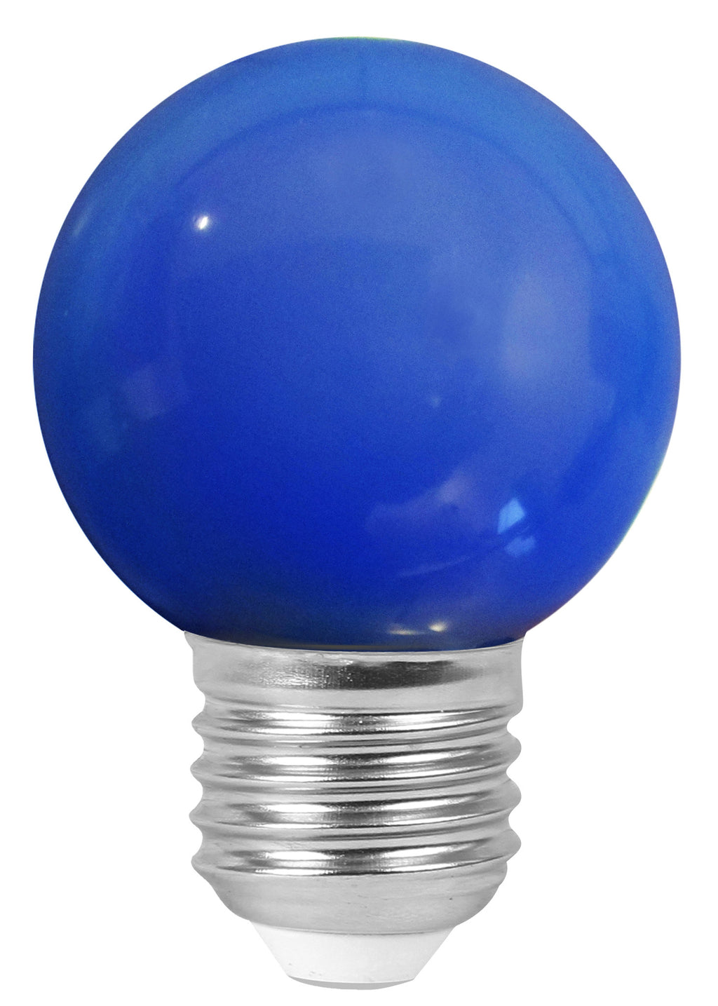 160138 - Golfball LED 1W E27 30Lm Blue