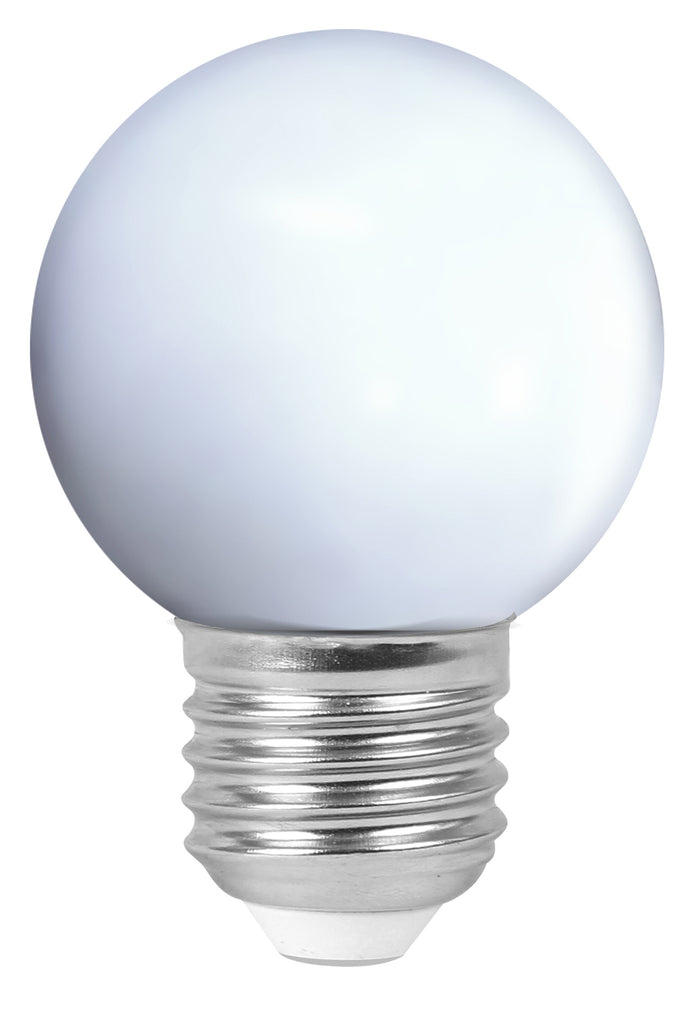 162040 - Golfball LED 1W E27 4000K 80Lm White
