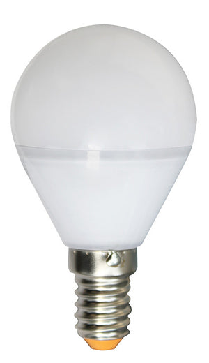 167196 - Golfball G45 LED 330° 5W E14 2700K 400Lm Dim.Frosted